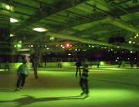 Ice-skating disco